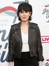 Rumer Willis Real Cowhide Leather Jacket