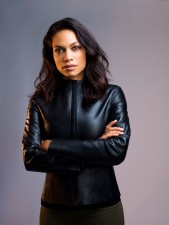 Rosario Dawson Zombieland: Double Tap Real Cowhide Leather Jacket