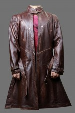 cosplay replica watch dogs aiden pearce Brown Distressed leather jacket Coat