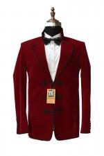 Dr Who Men's Smoking Jacket Wedding Party Wear Coat