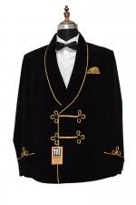 Man Black Smoking Blazers Designer Party Wear Blazers