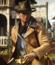 Arthur Morgan Brown Real Cowhide Leather