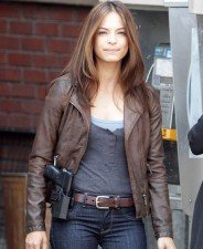 Beauty And The Beast TV Series Kristin Kreuk Leather Jacket