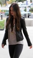 Megan Fox Real Cowhide Leather Jacket