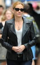 Julia Robert Black Leather Jacket