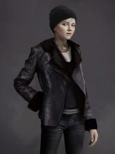 Kara Detroit Become Human Black Real Sheep Skin Leather Jacket