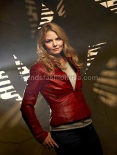 Jennifer Morrison Once Upon A Time Real Cowhide Leather Jacket