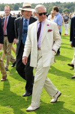 Prince Charles Linen suit