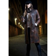 Watch Dogs Aiden Pearce Real Cowhide Coat