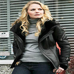 Women Celebrities Leather Jacket