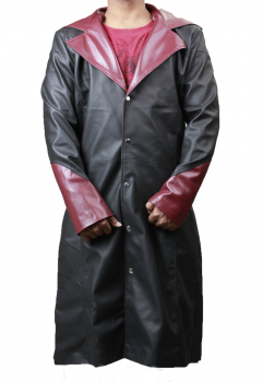 devil may cry 5 high quality real leather jacket coat