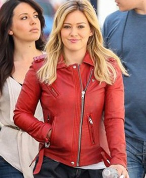 HILARY DUFF YOUNGER TV SERIES KELSEY RED JACKET