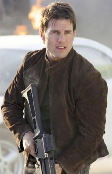Buy Tom Cruise Mission Impossible 3 Dark Brown Real Suede Leather
