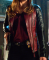 Beauty and the beast Catherine chandler real leather jacket